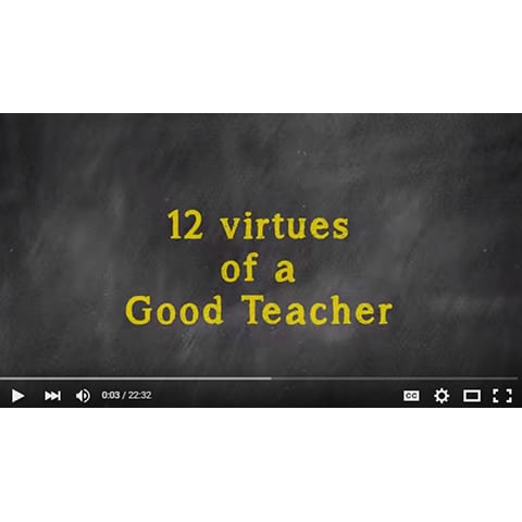 VIDEO - 12 Virtues - Ed Sirois