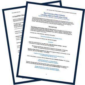 Glossary-Style Sheet