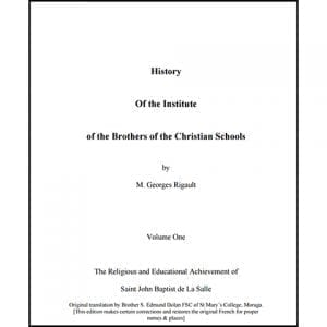 PDF - History fo the Institute - Georges Rigault
