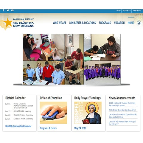 SFNO DISTRICT WEBSITE