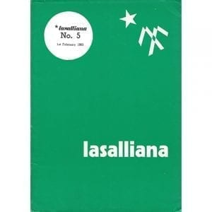 Lasalliana 05 - Cover