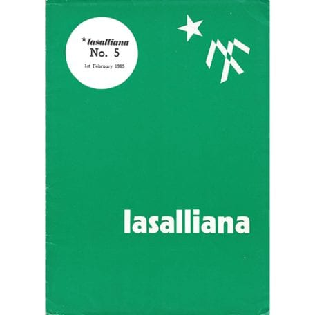 Lasalliana 05 - Cover