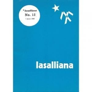 Lasalliana 12 - Cover