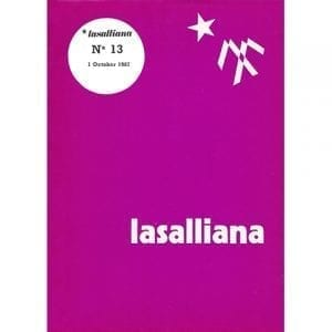 Lasalliana 13 - Cover