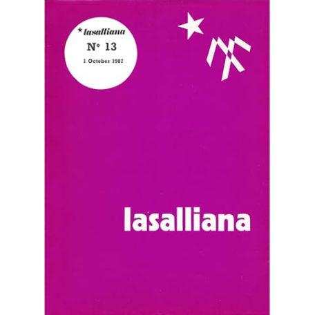 Lasalliana 13 - Cover