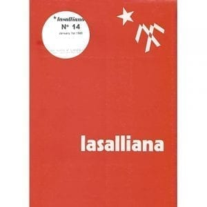 Lasalliana 14 - Cover