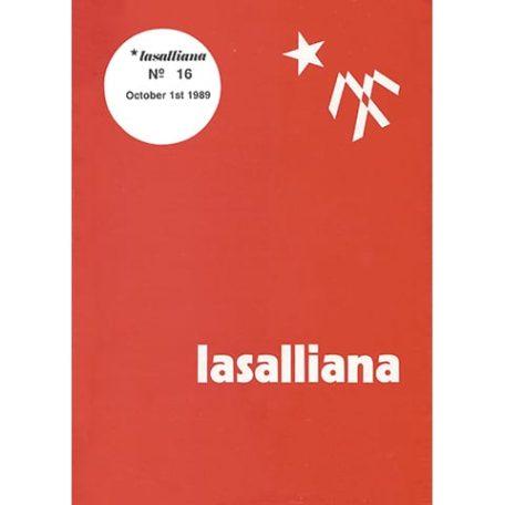 Lasalliana 16 - Cover