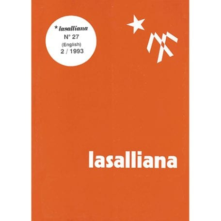 Lasalliana 27 - Cover