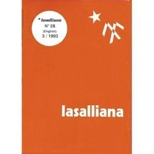 Lasalliana 28 - Cover