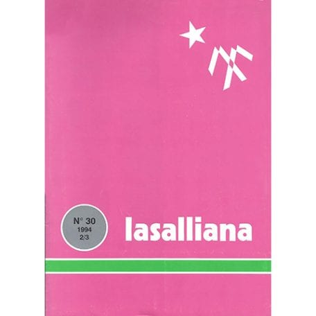 Lasalliana 30 - Cover