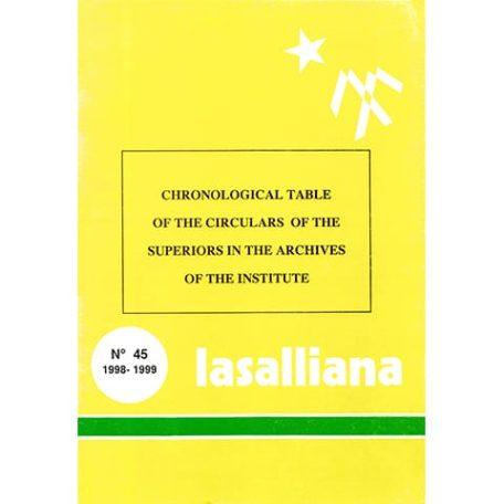 Lasalliana 45 - Cover