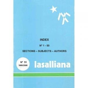 Lasalliana 51 - Cover