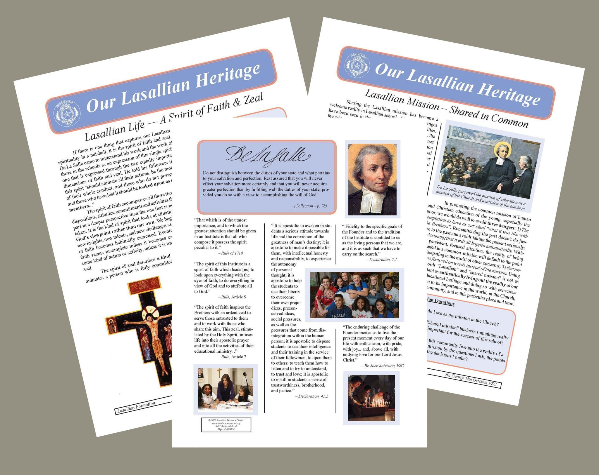 Our Lasallian Heritage Resources