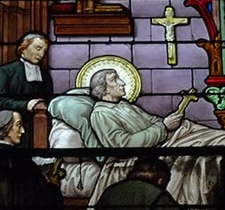 April 7 – Death of De La Salle