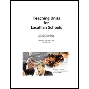 ACADEMICS 1998 Teaching Units For Lasallian School