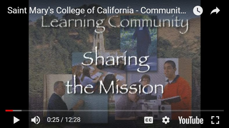 Saint Mary's College – Sharing the Mission