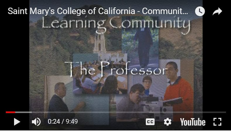 Saint Mary's College – The Professor