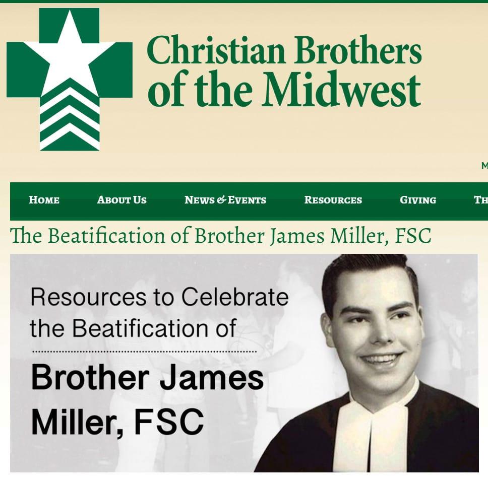 February 13 – Br. James Miller, FSC