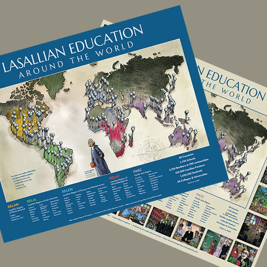 New Lasallian World Map